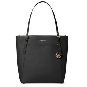 Michael Kors VOYAGER NORTH SOUTH LEATHER TOTE